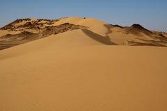 Sahara-Wüstenlandschaft, Ägypten Lizenzfreie Stockfotos