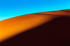 Sahara-Wüstensand Stockfotografie