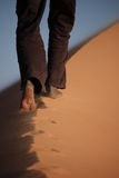 Sahara w Algieria Zdjęcia Stock