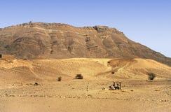 sahara well arkivbilder