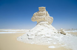 Sahara, white desert Stock Photos