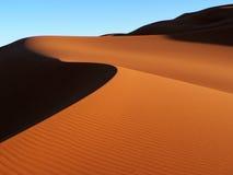 sahara wydmowy piasek Zdjęcie Royalty Free