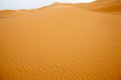 Saharan dunes Stock Photos
