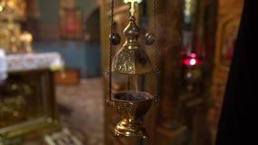 Saharna kloster i 4K Moldavien arkivfilmer