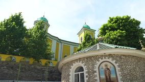 Saharnaklooster in 4K Moldavi? stock footage
