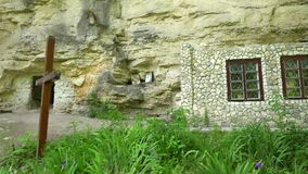 Saharnaklooster in 4K Moldavi? stock video