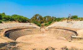 Sahasralinga Talav, a medieval artificial water tank in Patan - Gujarat, India Royalty Free Stock Photos