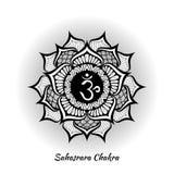 Sahasrara chakra projekt Zdjęcie Stock