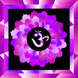 Sahasrara chakra Royalty Free Stock Photo
