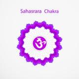 Sahasrara chakra Royalty Free Stock Image
