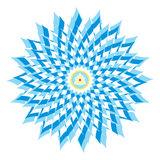 Sahasrara or Crown Chakra Stock Photo