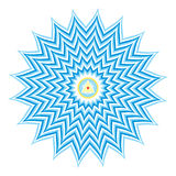 Sahasrara or Crown Chakra Royalty Free Stock Images