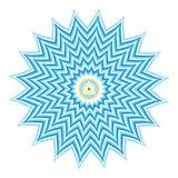 Sahasrara or Crown Chakra. An abstract illustration on Sahasrara - thousand-petaled or Crown Chakra, the 7th Primary Chakra Royalty Free Stock Images