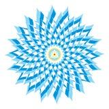 Sahasrara o corona Chakra Foto de archivo