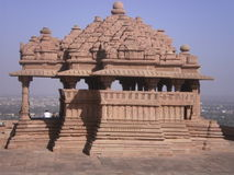 Sahastrabahu temple. A hindu temple situated at Gwalior fort shastrabahu means thousand hands it indicates to God Vishnu Royalty Free Stock Photos