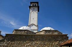 Sahat Kulla wieża obserwacyjna, Prizren, Kosowo Zdjęcia Stock