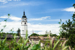 Sahat tower on Kalemegdan in Belgrade, Serbia Royalty Free Stock Image