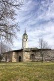 Sahat-Turm auf Kalemegdan-Festung Lizenzfreies Stockfoto