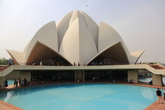 Sahbas Lotus Temple in Indien Stockfoto