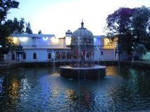 Saheliyon Ki Бари в Udaipur на Night-1 Стоковые Изображения RF