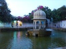 Saheliyon Ki Бари в Udaipur на Night-2 Стоковое фото RF