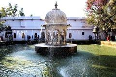 Saheliyon Ki Badi, Udaipur, Индия стоковые изображения rf