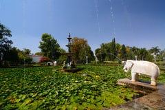 Saheliyon ki bari Udaipur Rajasthan india Fotografering för Bildbyråer