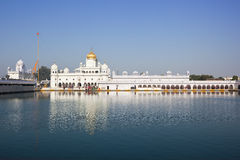 Sahib Patiala do nivaran do dukh de Gurdwara foto de stock