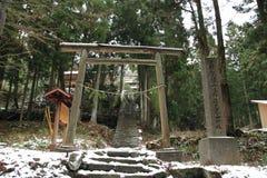 Sahimeyama-Schrein in ginzan Silberbergwerk Iwami (Welterbe) Stockfotos