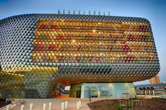 SAHMRI building horizontal Royalty Free Stock Image