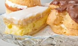 Sahne-Kuchen lizenzfreie stockfotografie