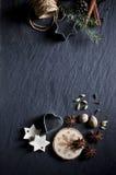 Sahnesuppe mit Pilzen lizenzfreies stockbild
