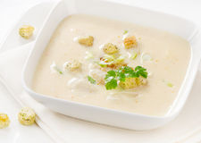 Fisch-Suppe Stockbild