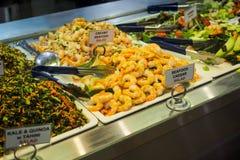Sahniger Meeresfrüchte-Salat Lizenzfreie Stockbilder