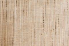Sahniges rohes silk authentisches natürliches Gewebe maserte Hintergrund Lizenzfreie Stockfotografie