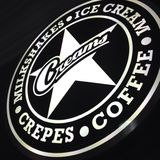 Sahnt Café Lizenzfreie Stockbilder