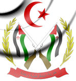 Sahrawi Arab Democratic Republic Coat of Arms. Royalty Free Stock Image