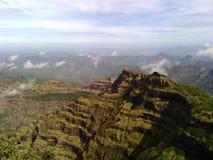 Sahyadri-Berge Lizenzfreies Stockfoto