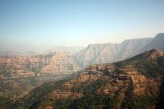 Sahyadri Mountains Background royalty free stock photography