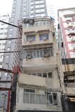 Sai嬴双关语的hk钳子lau老房子 库存照片