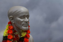 Sai Baba face Stock Images