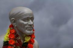 Sai Baba-gezicht Stock Afbeeldingen