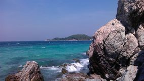Sai Daeng beach on the island Koh Lan . Royalty Free Stock Photos