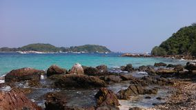 Sai Daeng beach on Koh Lan, Thailand Stock Photo