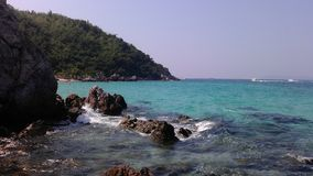 Sai Daeng beach on the  Koh Lan, Thailand. Royalty Free Stock Image