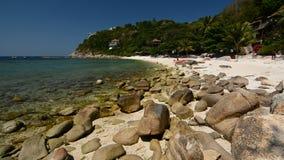Sai Daeng strand koh tao thailand stock video