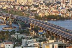 Sai Gon bridge in Ho Chi Minh city Stock Images