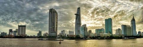Sai Gon City immagine stock libera da diritti