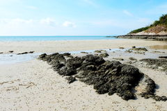 Sai kaew strand Royalty-vrije Stock Afbeelding
