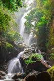 Sai Khao Waterfall é ficada situada no Secundário-distrito de Sai Khao Província de Pattani, Tailândia fotografia de stock royalty free